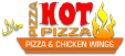 Pizza Hot Pizza Logo